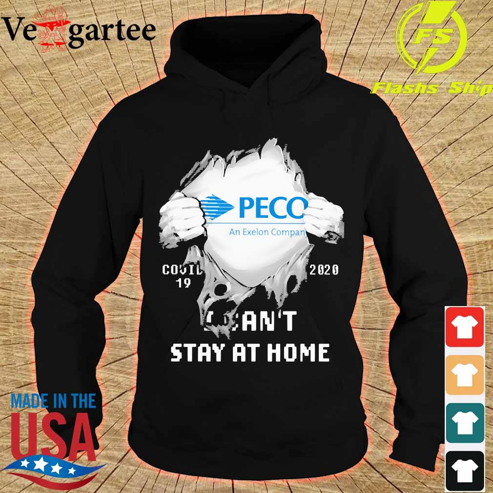 Blood inside me Peco covid-19 2020 I can't stay at home s hoodie