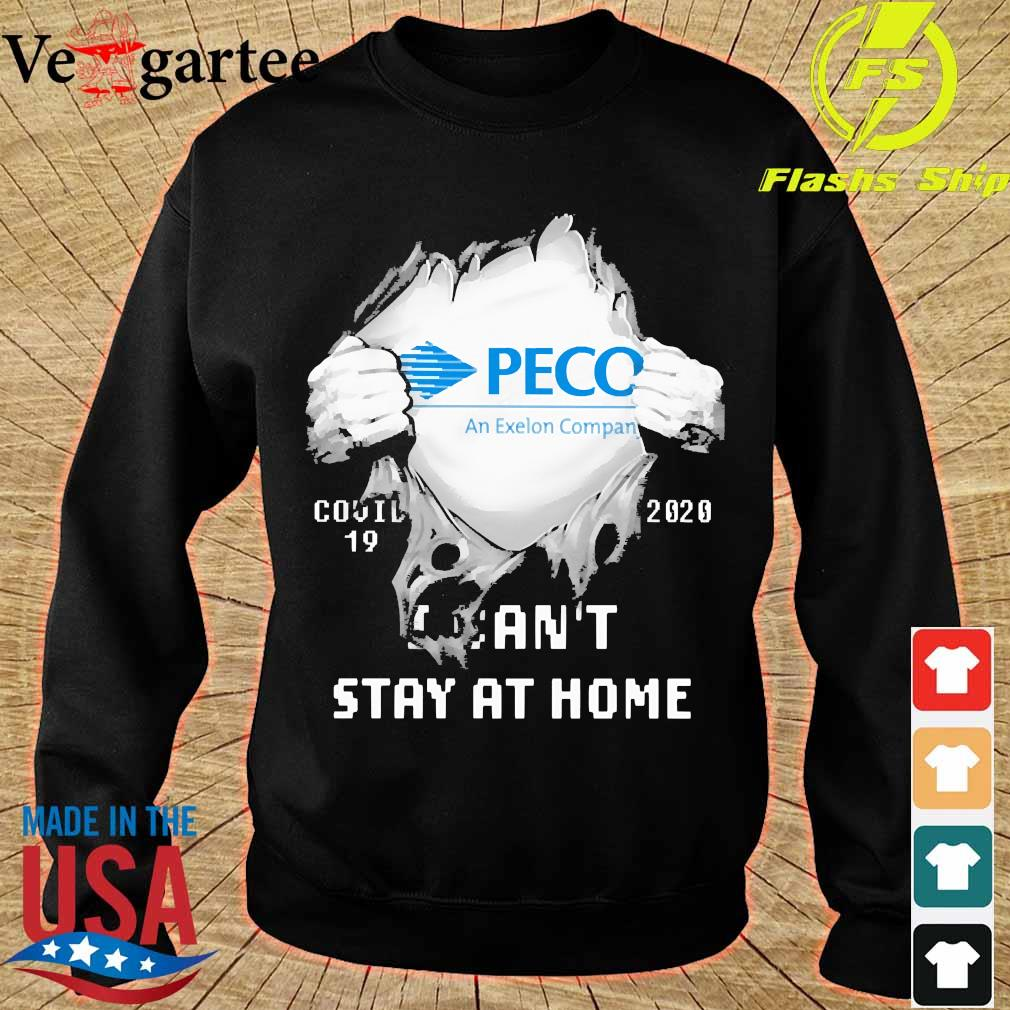 Blood inside me Peco covid-19 2020 I can't stay at home s sweater