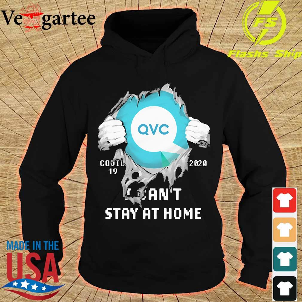 Blood inside me QVC Germany covid-19 2020 I can't stay at home s hoodie