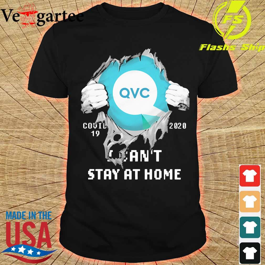 Blood inside me QVC Germany covid-19 2020 I can't stay at home shirt
