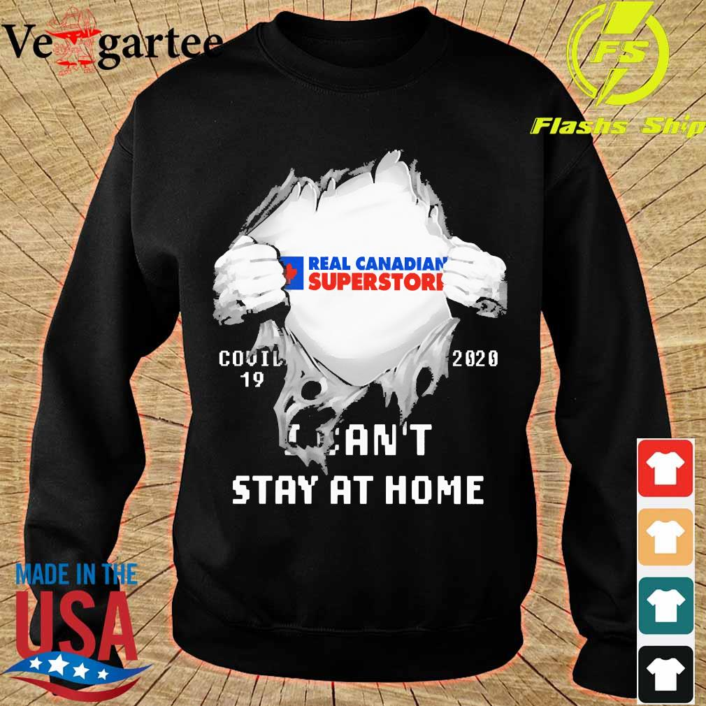 Blood inside me Real Canadian Superstore covid-19 2020 I can't stay at home s sweater