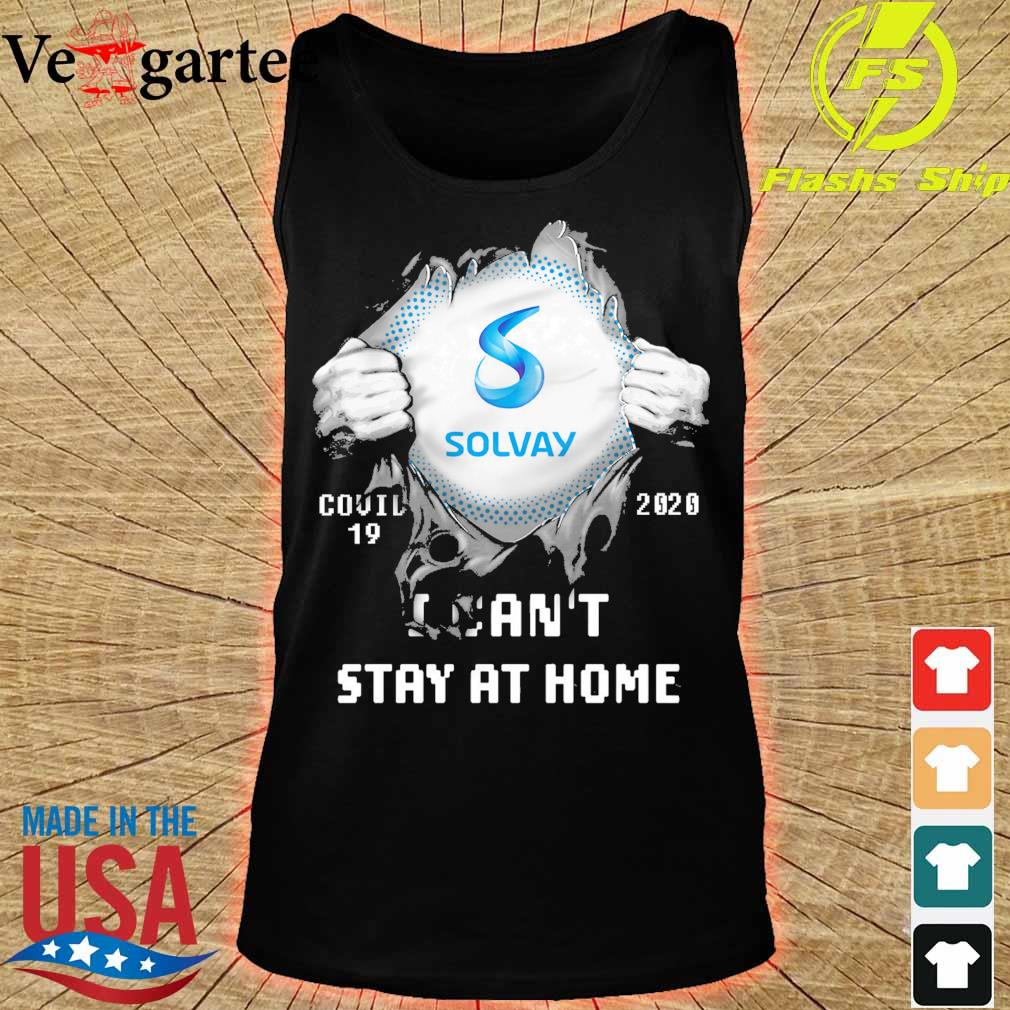 Blood inside me Solway covid 19 2020 i can't stay at home s tank top