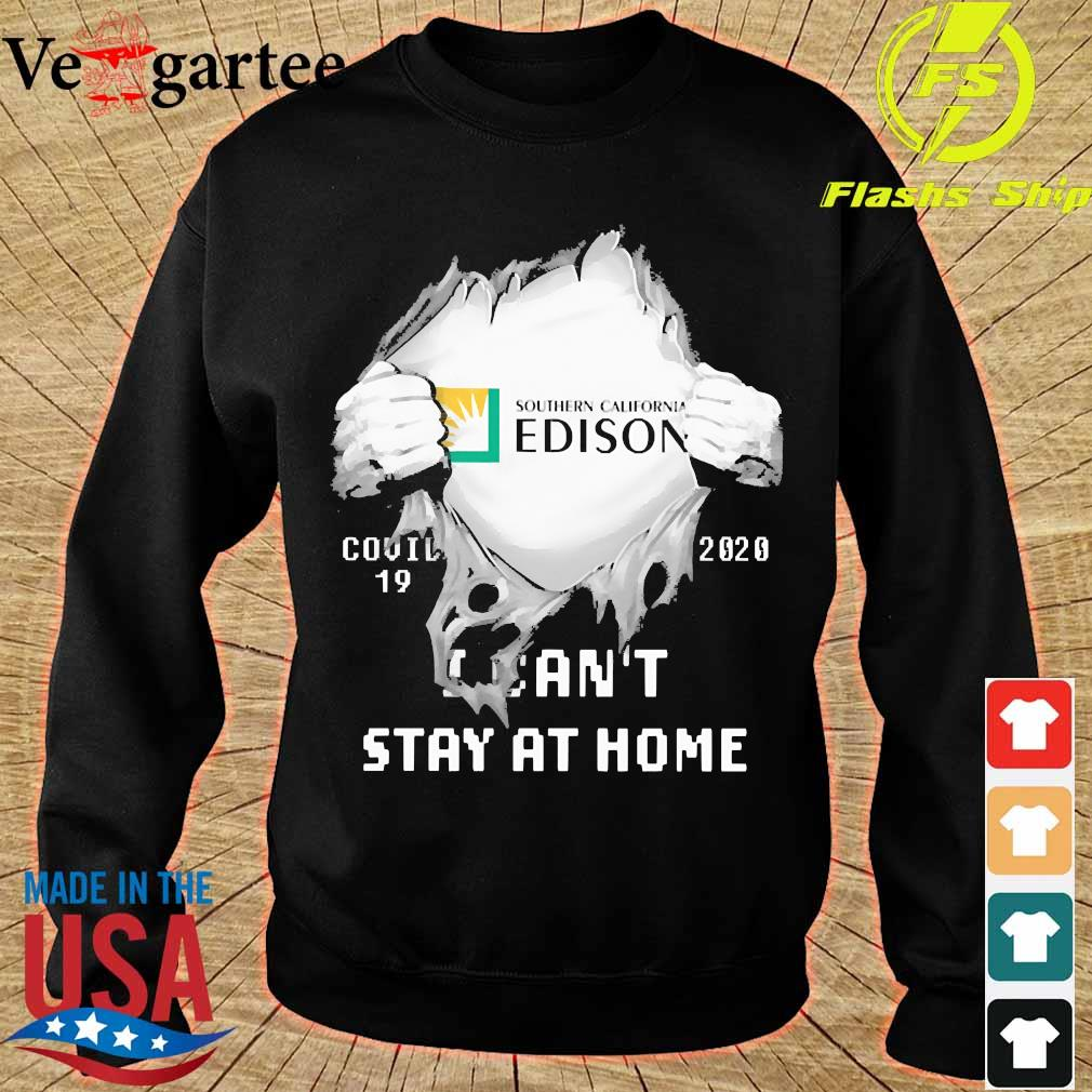 Blood inside me Southern California Edison covid-19 2020 I can't stay at home s sweater