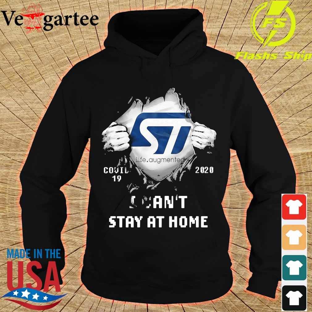 Blood inside me ST Life Augmented covid-19 2020 I can't stay at home s hoodie