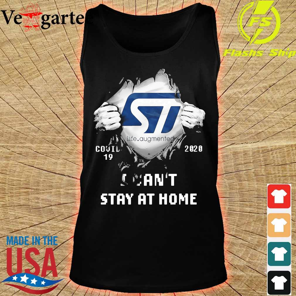 Blood inside me ST Life Augmented covid-19 2020 I can't stay at home s tank top