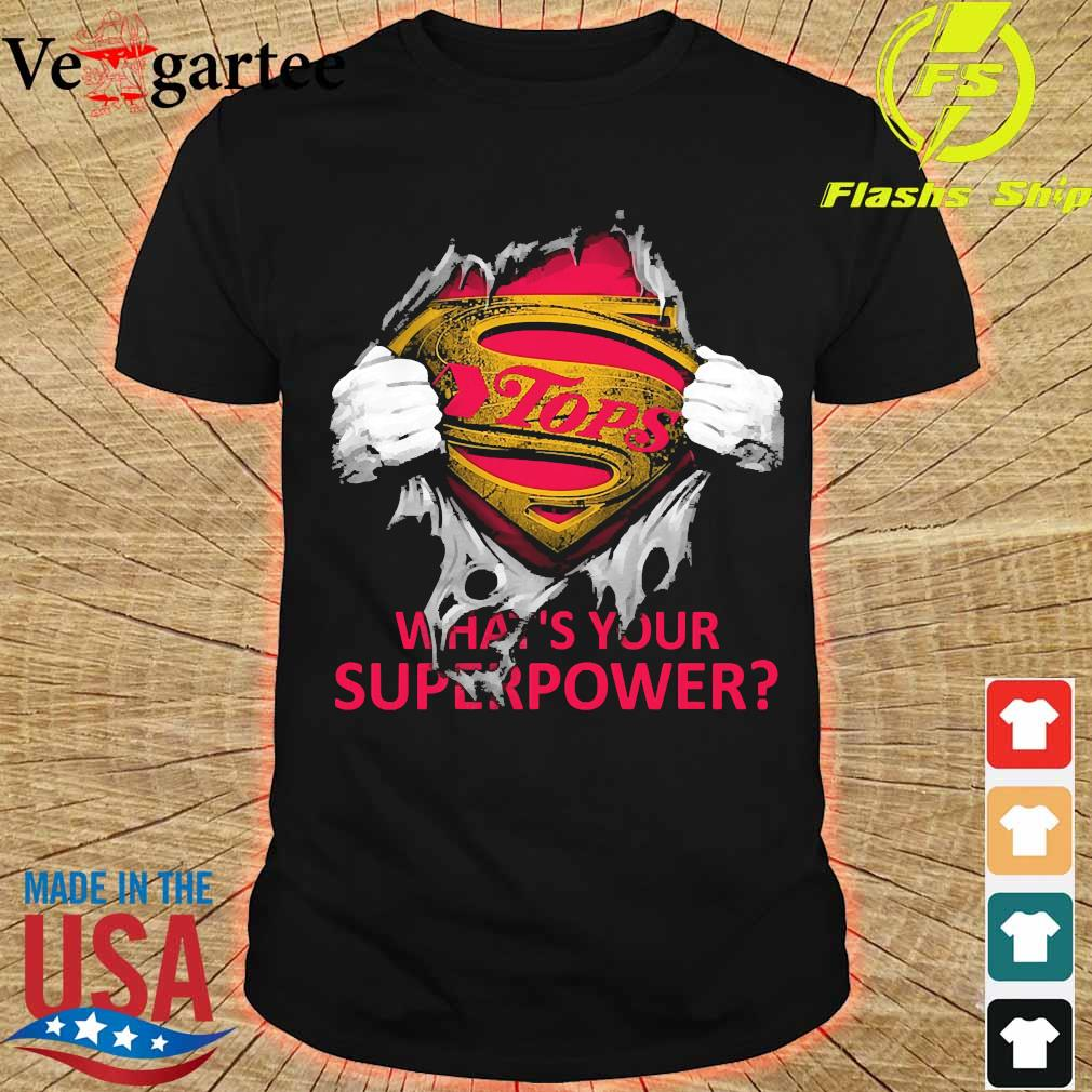 Blood inside me Tops what's your superpower shirt