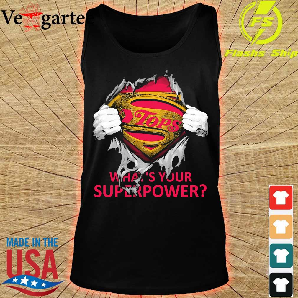 Blood inside me Tops what's your superpower s tank top