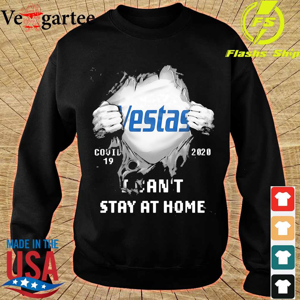 Blood inside me Vestas covid-19 2020 I can't stay at home s sweater