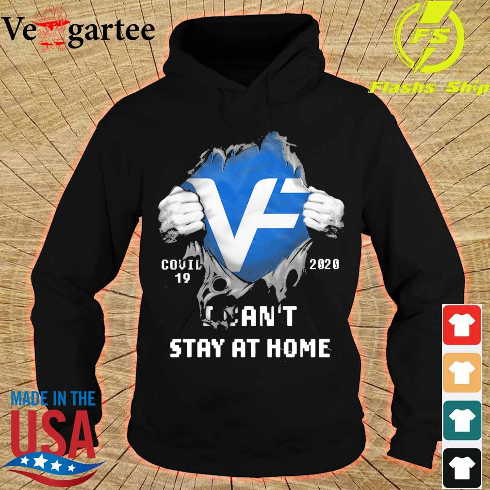 Blood inside me VF corporation covid 19 2020 i can't stay at home s hoodie
