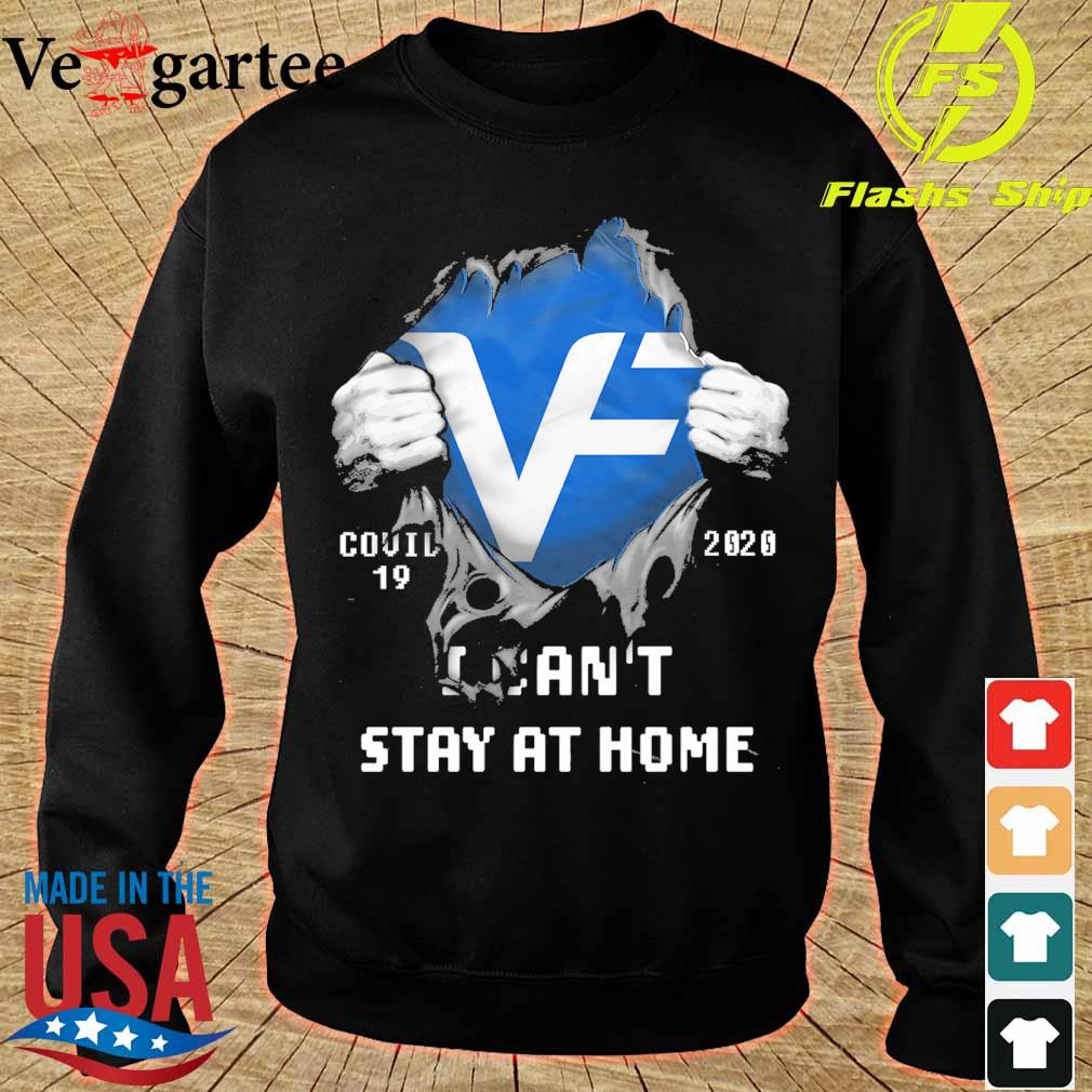 Blood inside me VF corporation covid 19 2020 i can't stay at home s sweater