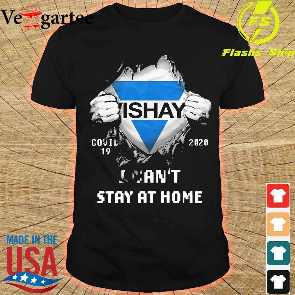 Blood inside me Vishay covid-19 2020 I can't stay at home shirt