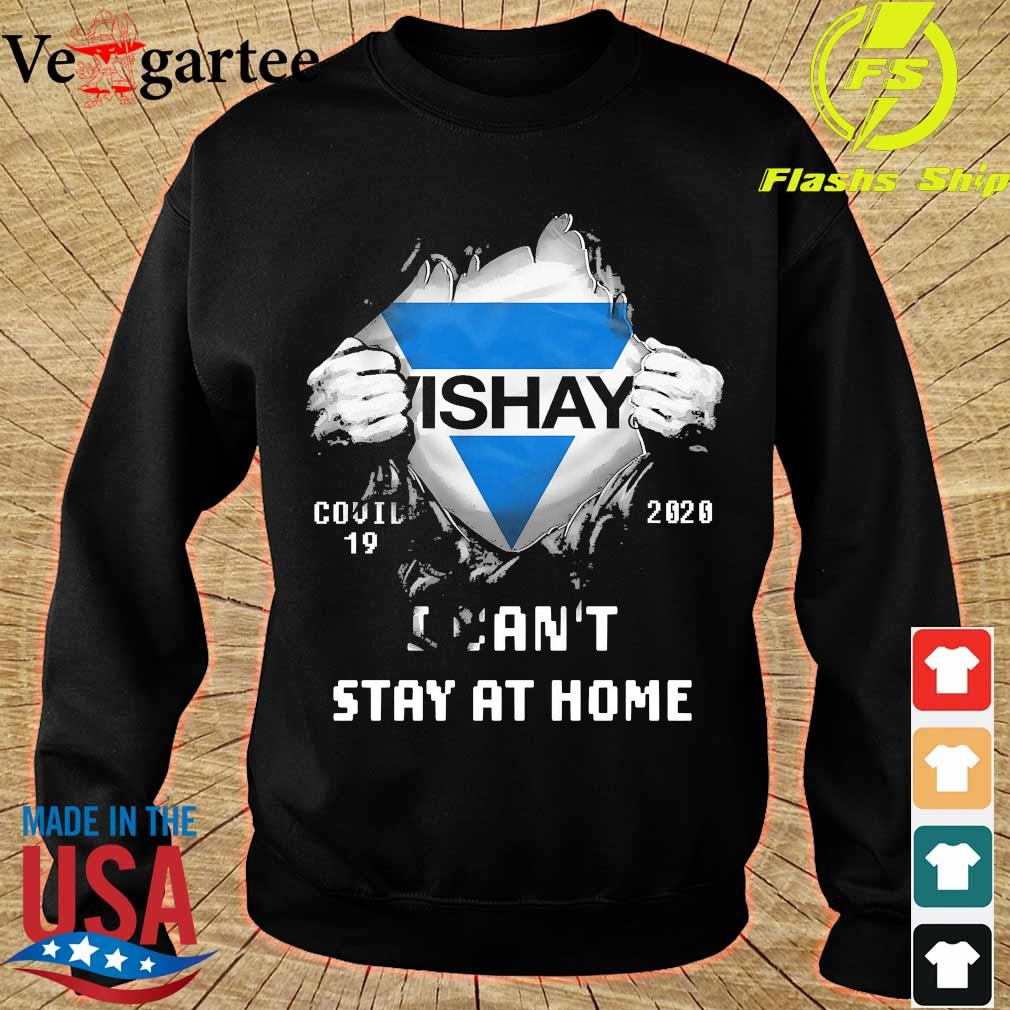 Blood inside me Vishay covid-19 2020 I can't stay at home s sweater