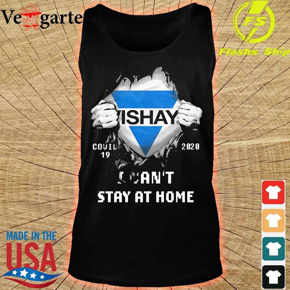 Blood inside me Vishay covid-19 2020 I can't stay at home s tank top