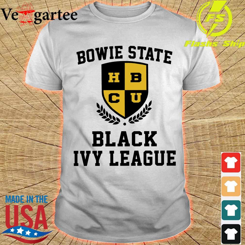 Bowie State HBCU Black Ivy League shirt