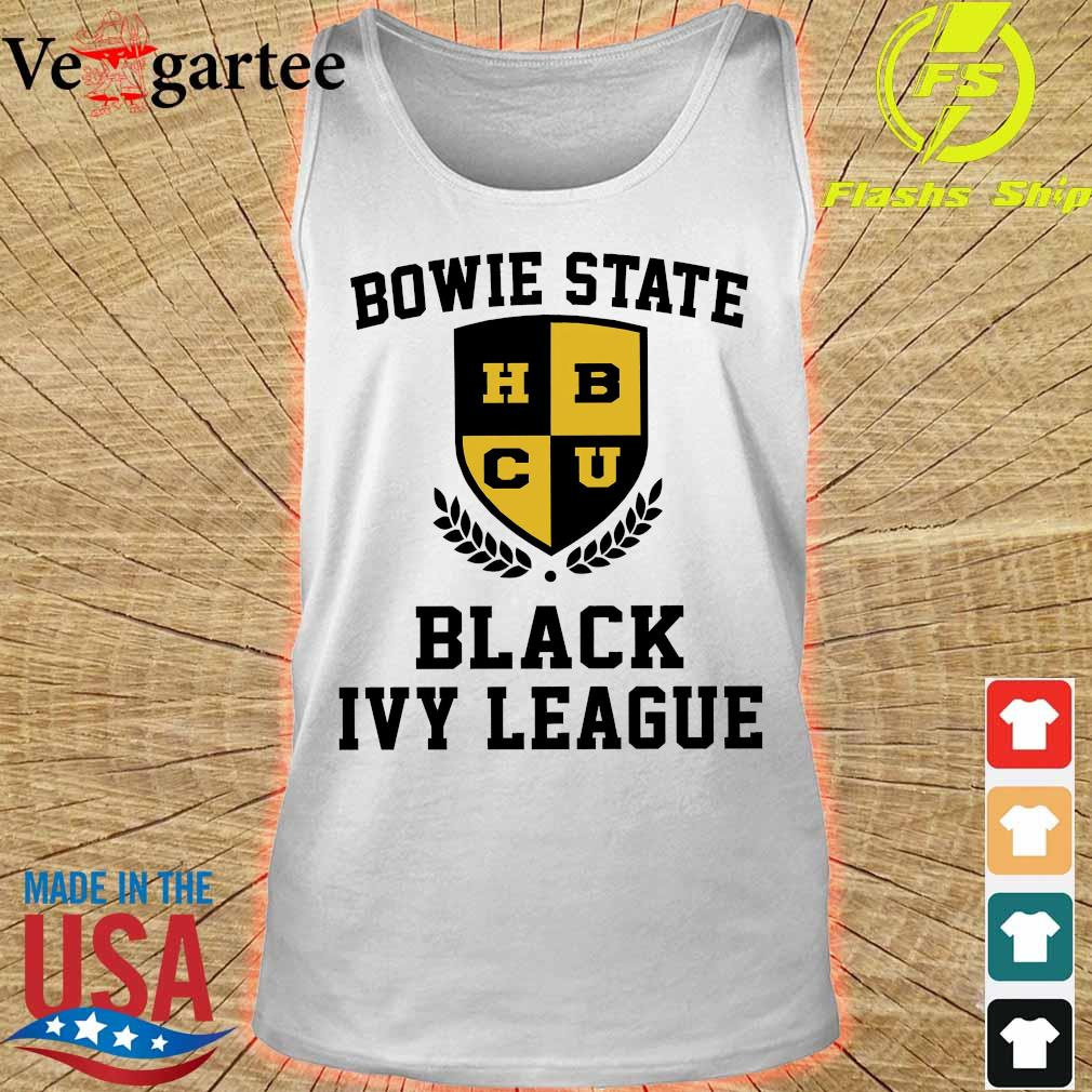 Bowie State HBCU Black Ivy League s tank top