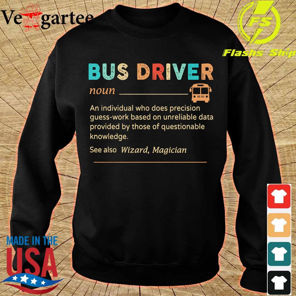 Bus driver definition s sweater