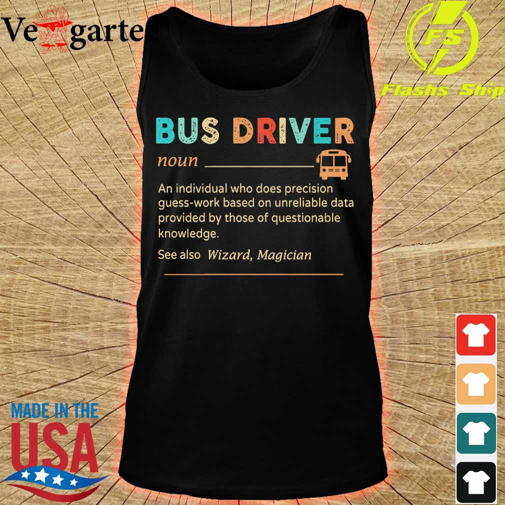 Bus driver definition s tank top
