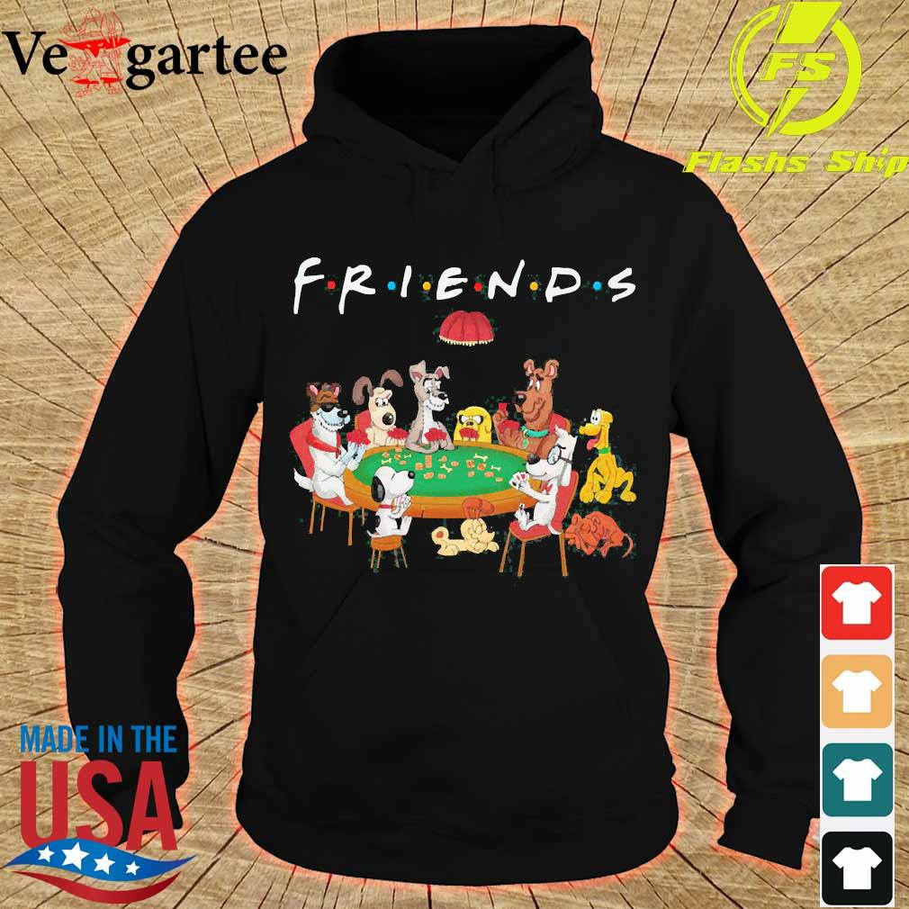 Cartoon dogs playing poker friend s hoodie
