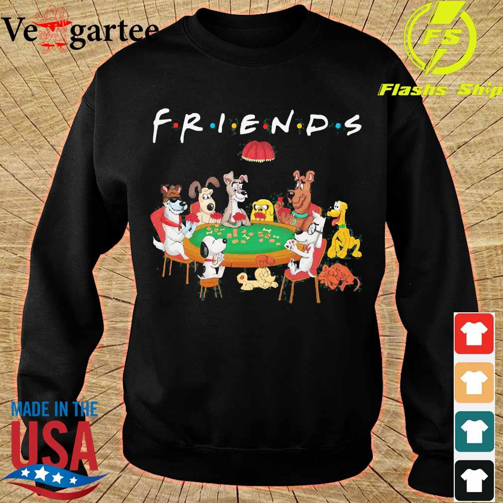 Cartoon dogs playing poker friend s sweater
