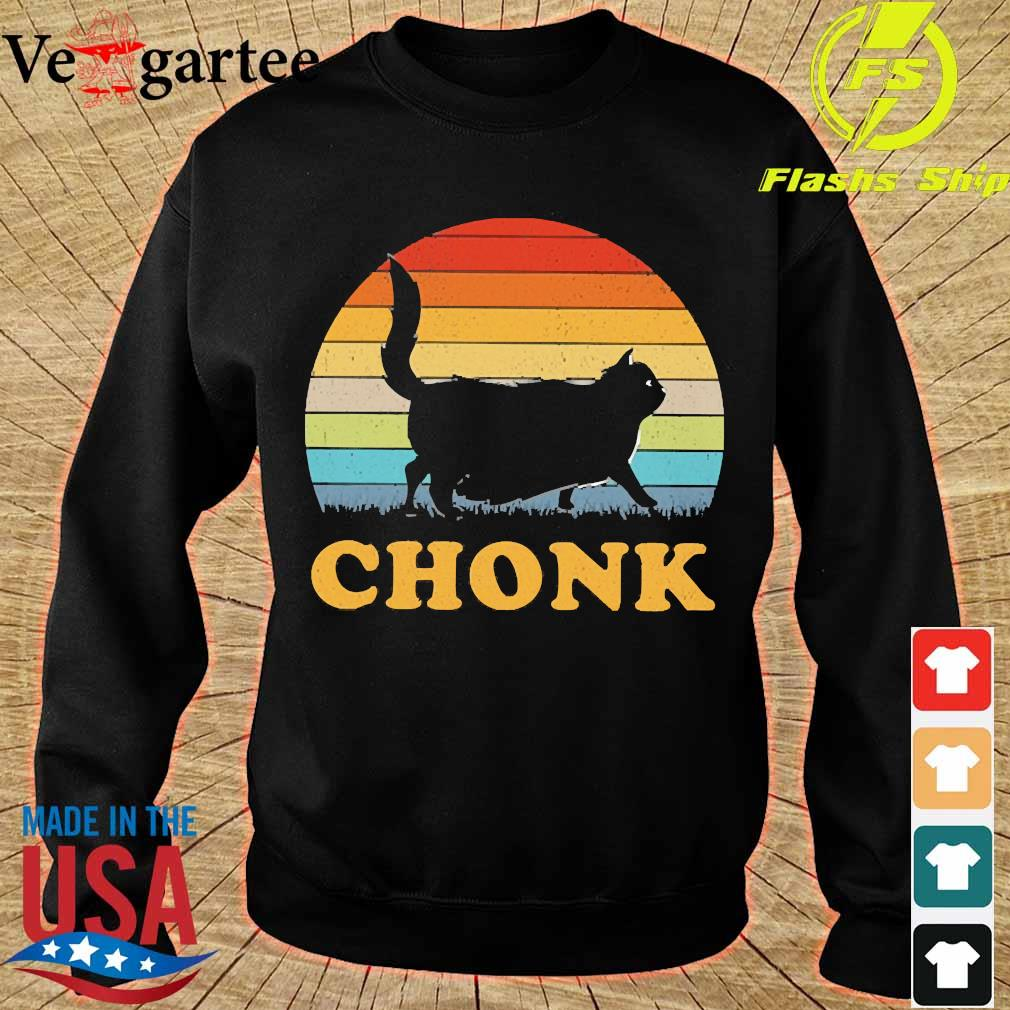 Cat chonk vintage s sweater