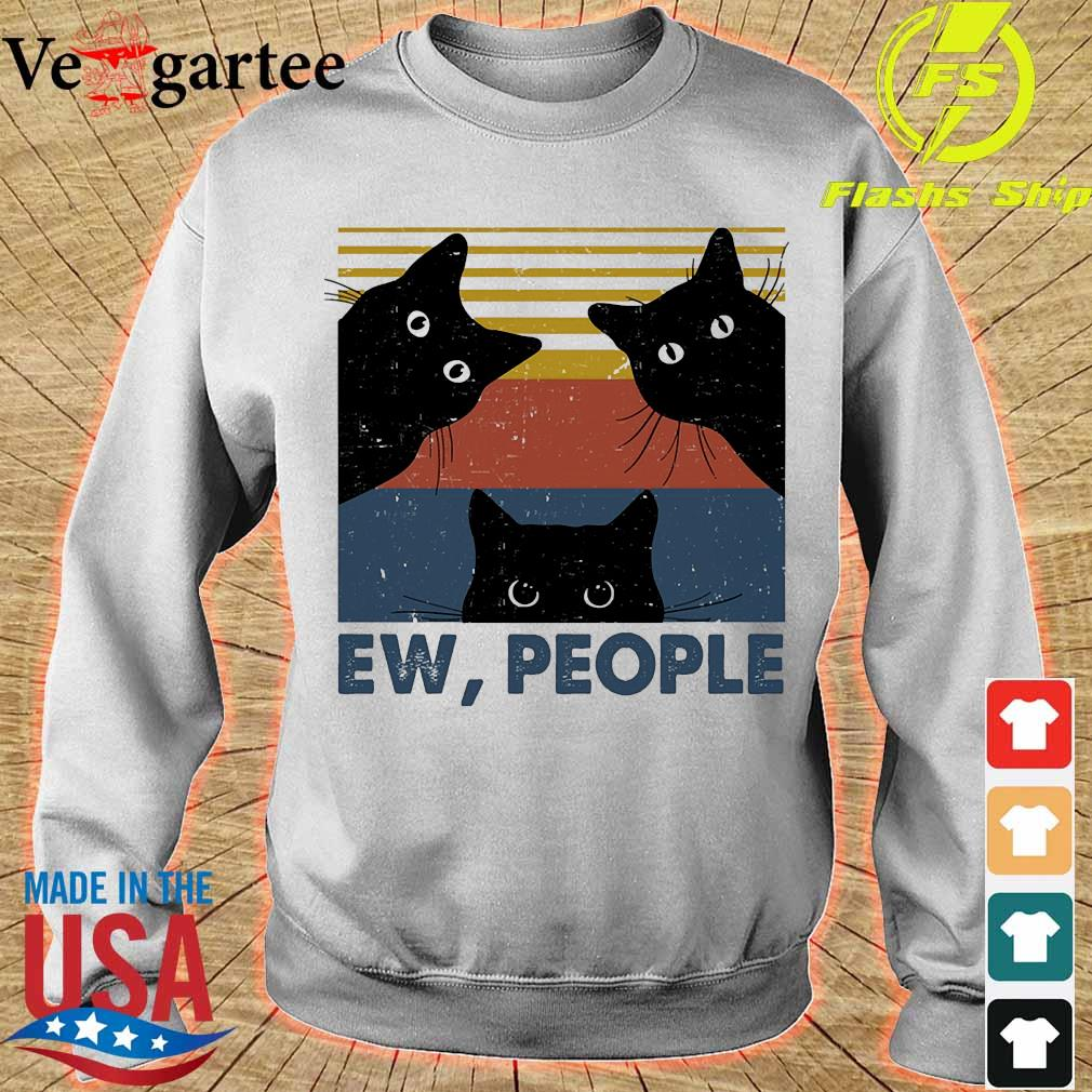 Cats Ew people vintage s sweater