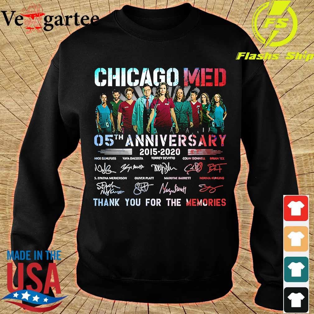 Chicago Med 05th anniversary 2015 2020 thank You for the memories signatures s sweater