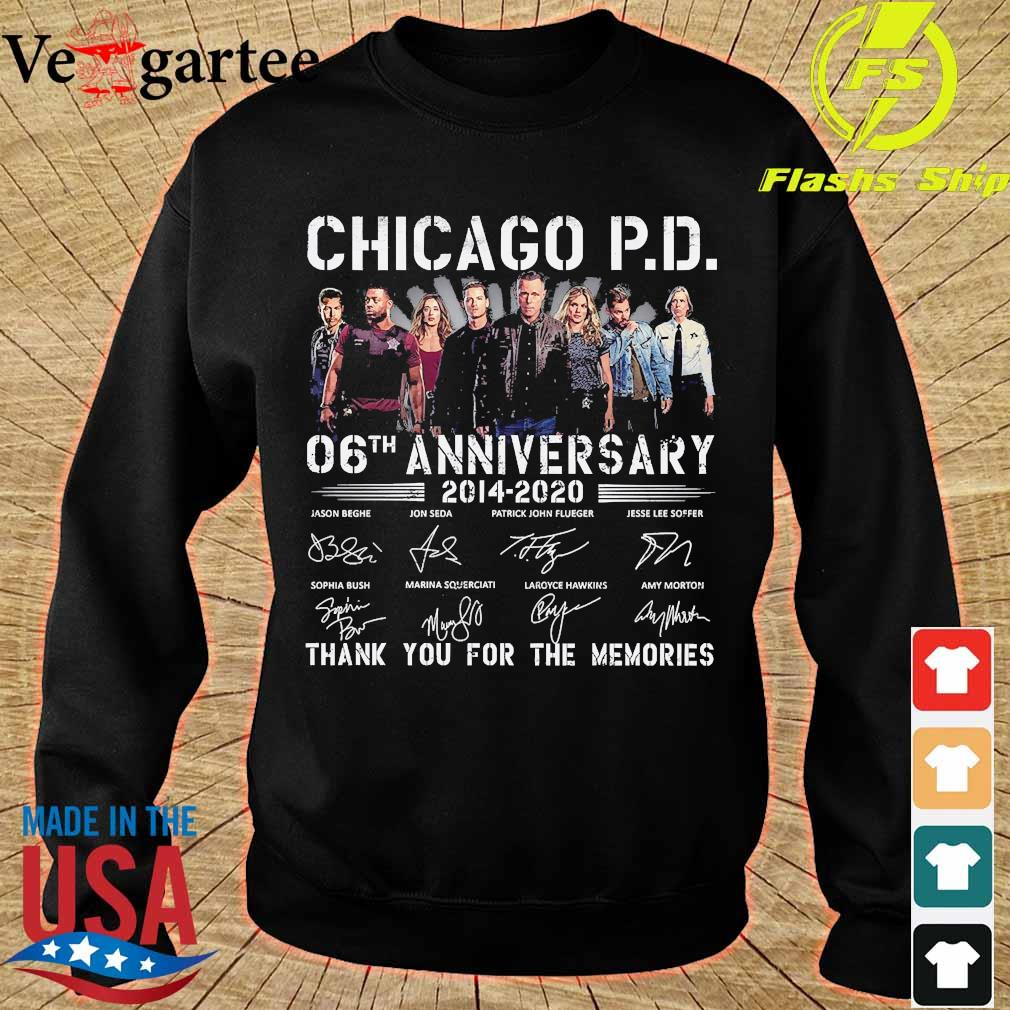 Chicago P.D 06th anniversary 2014 2020 thank You for the memories signatures s sweater