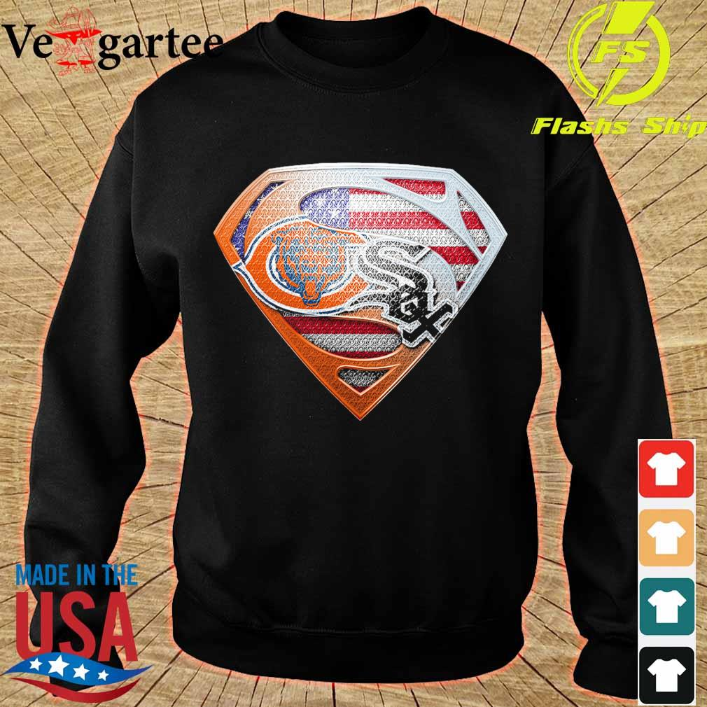 Chicago White Sox and Chicago Bears superman s sweater
