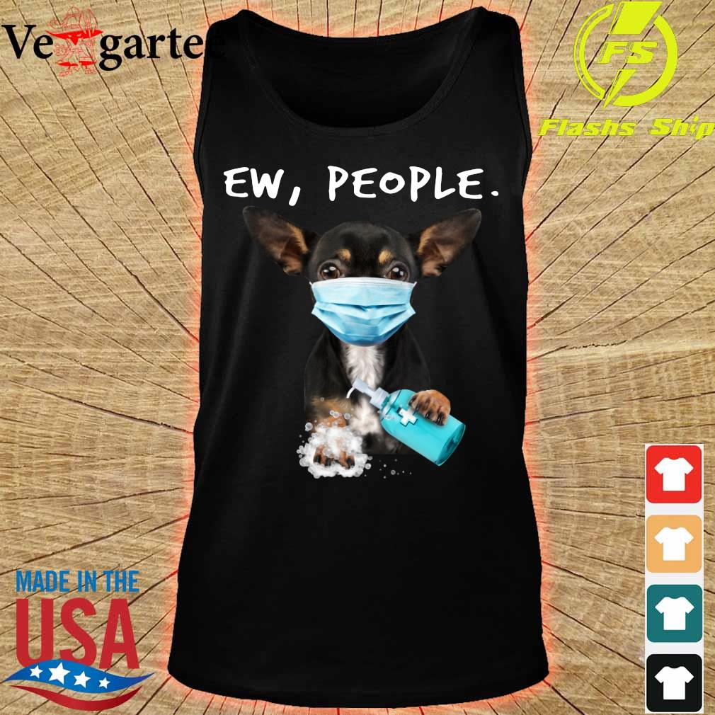 Chihuahua face mark Ew People s tank top
