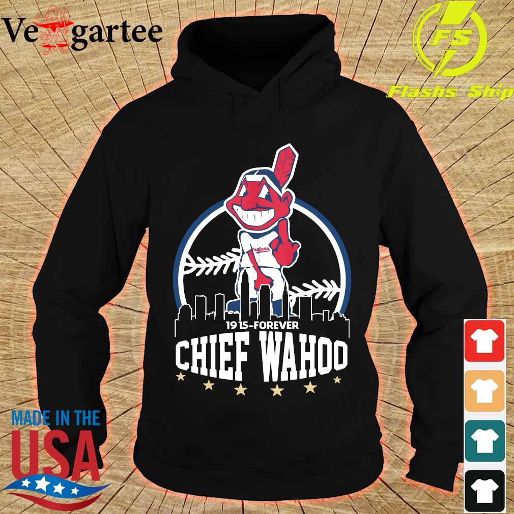 Cleveland Indians 1915 forever Chief Wahoo s hoodie