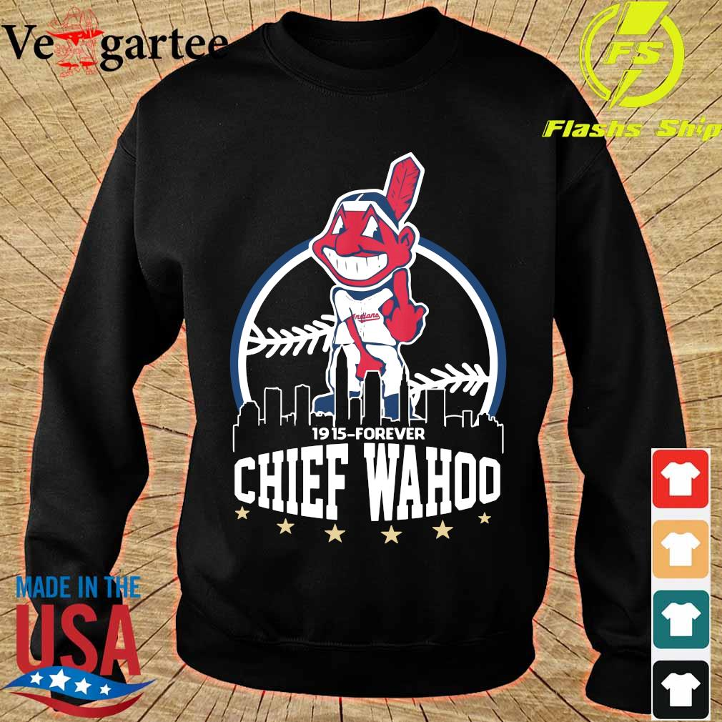 Cleveland Indians 1915 forever Chief Wahoo s sweater