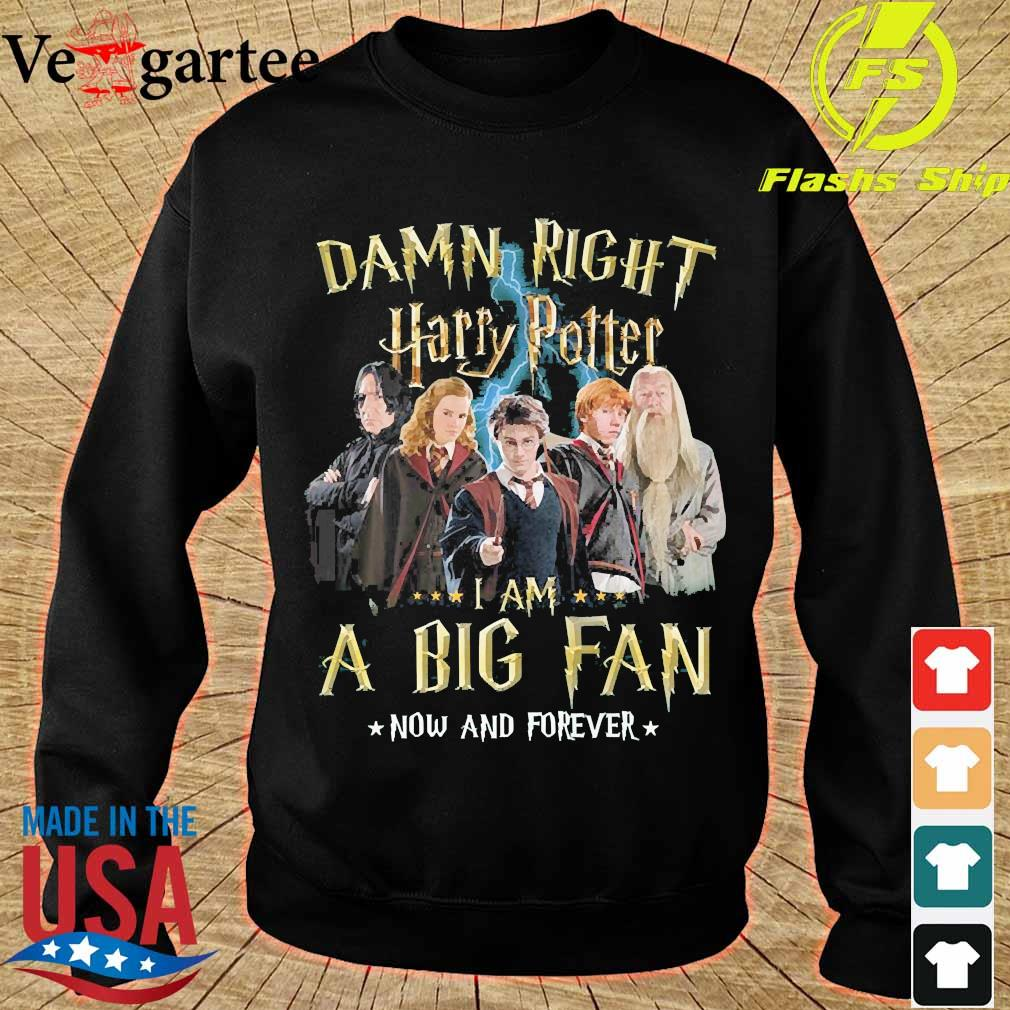 Damn right Harry Potter I am a big fan now and forever s sweater