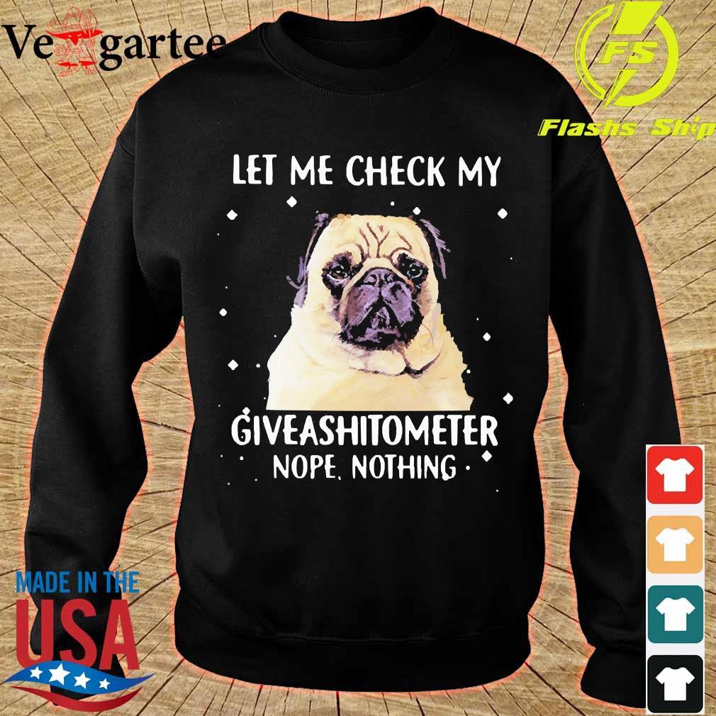 Dog let me check my giveashitometer nope nothing s sweater