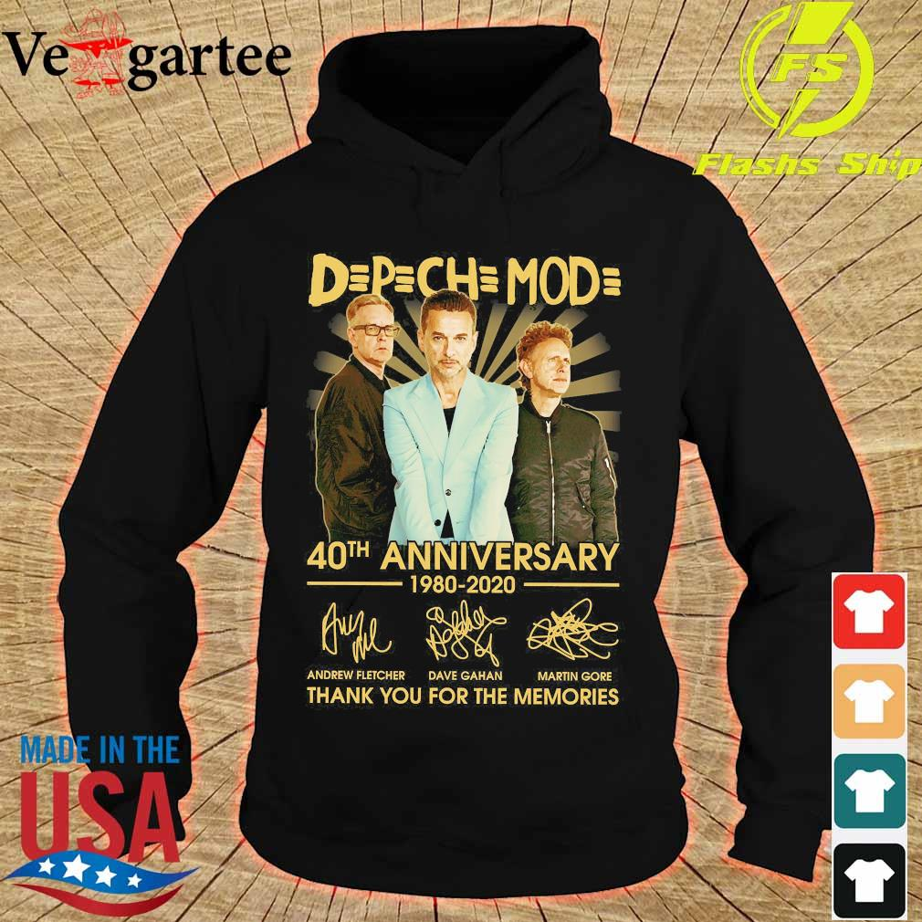 DPCH MOD 40th anniversary 1980 2020 thank You for the memories signatures s hoodie