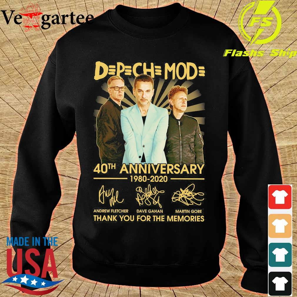 DPCH MOD 40th anniversary 1980 2020 thank You for the memories signatures s sweater