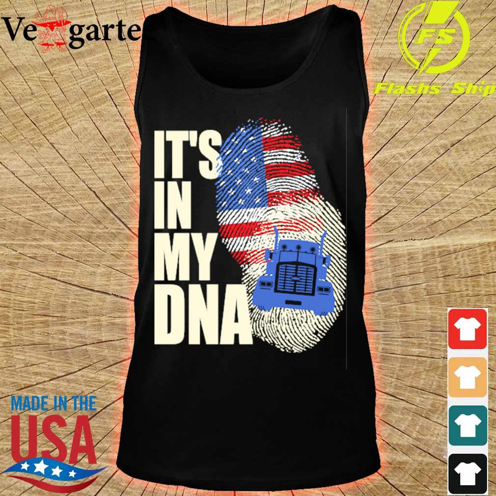 Driver America it's in my DNA s tank top