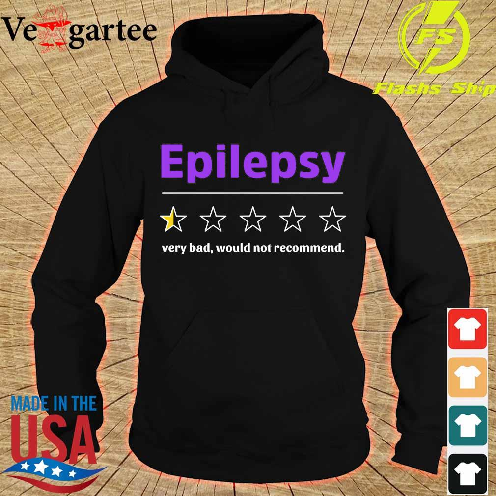 Epilepsy very bad would not recommend s hoodie