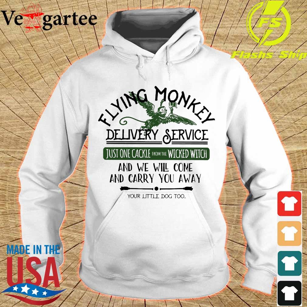 Flying Monkey delivery service and We will come and carry You away s hoodie
