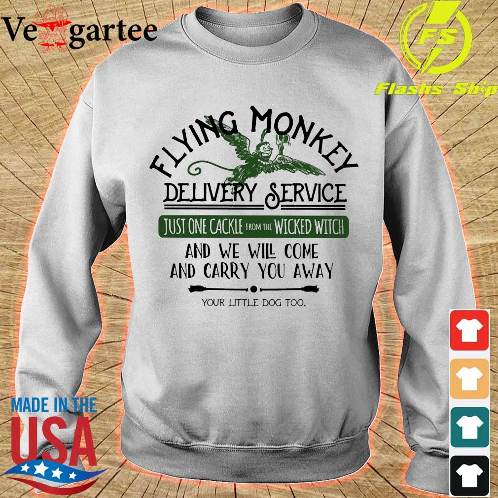 Flying Monkey delivery service and We will come and carry You away s sweater