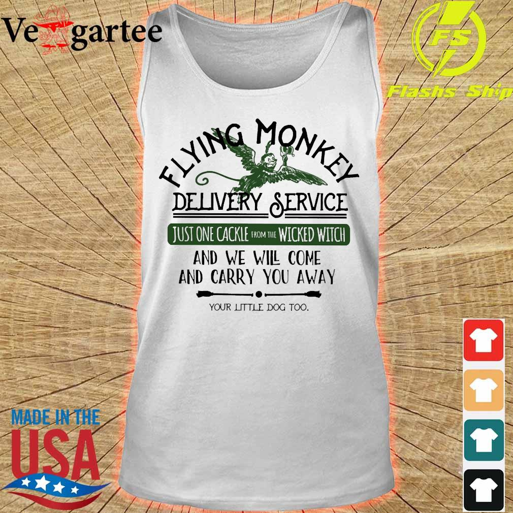 Flying Monkey delivery service and We will come and carry You away s tank top