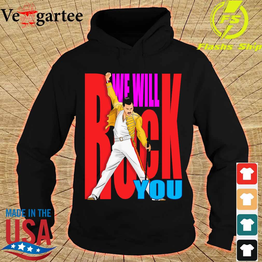 Freddie Mercury We will back You s hoodie