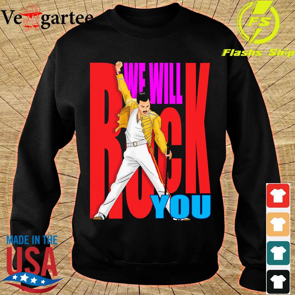 Freddie Mercury We will back You s sweater