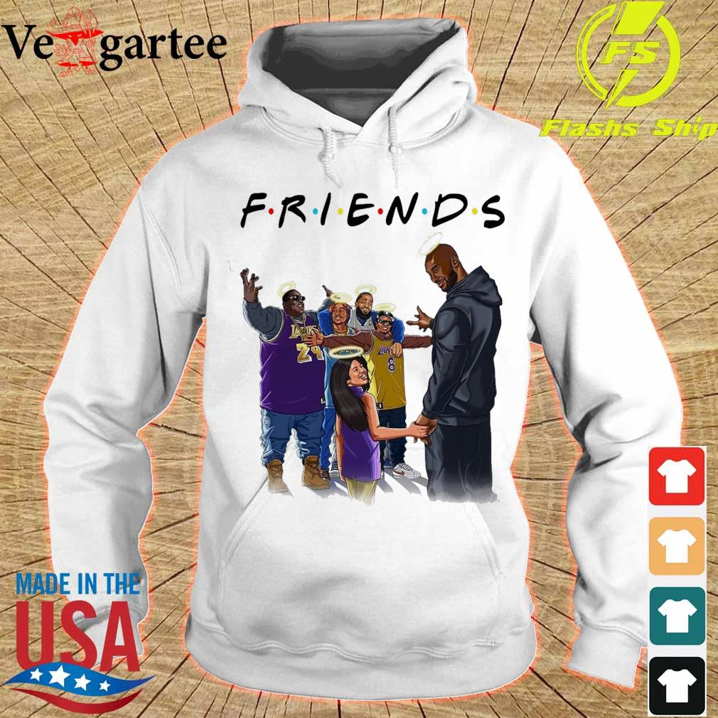 Friends Kobe Bryant and legends rappers s hoodie