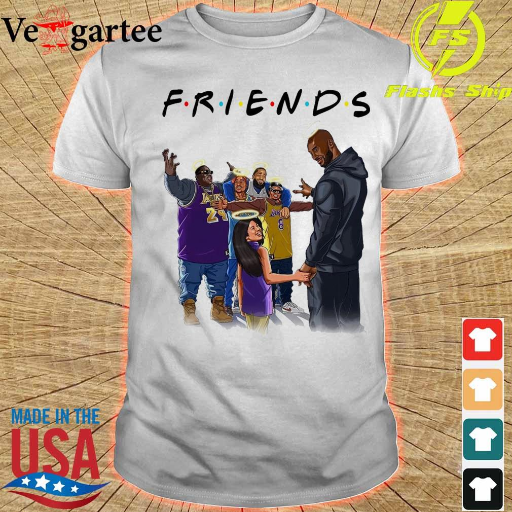 Friends Kobe Bryant and legends rappers shirt