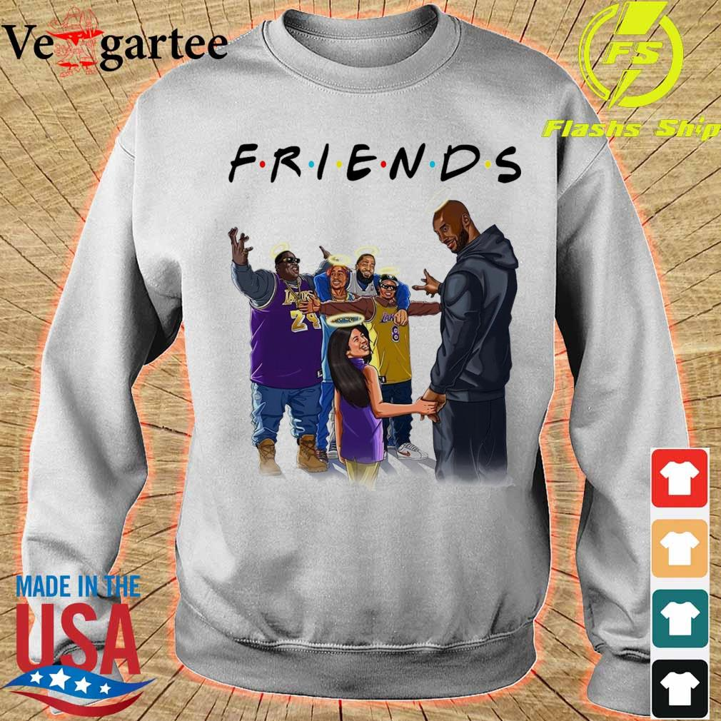 Friends Kobe Bryant and legends rappers s sweater