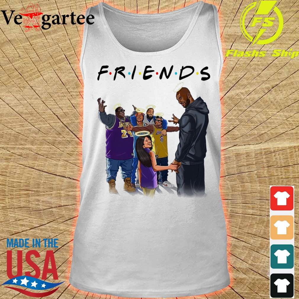 Friends Kobe Bryant and legends rappers s tank top