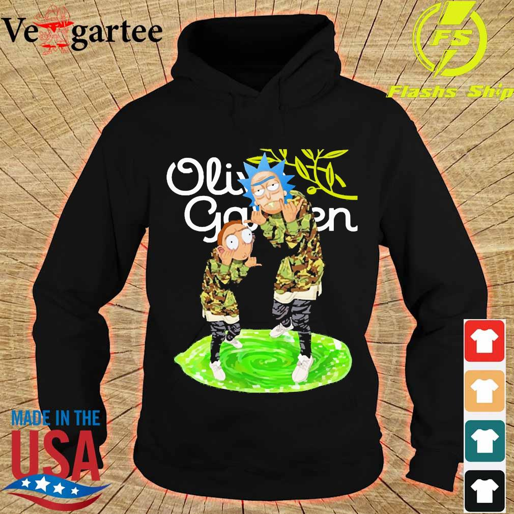 Garden Rick and Morty Olive s hoodie