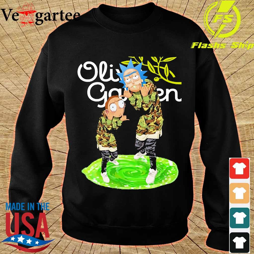 Garden Rick and Morty Olive s sweater