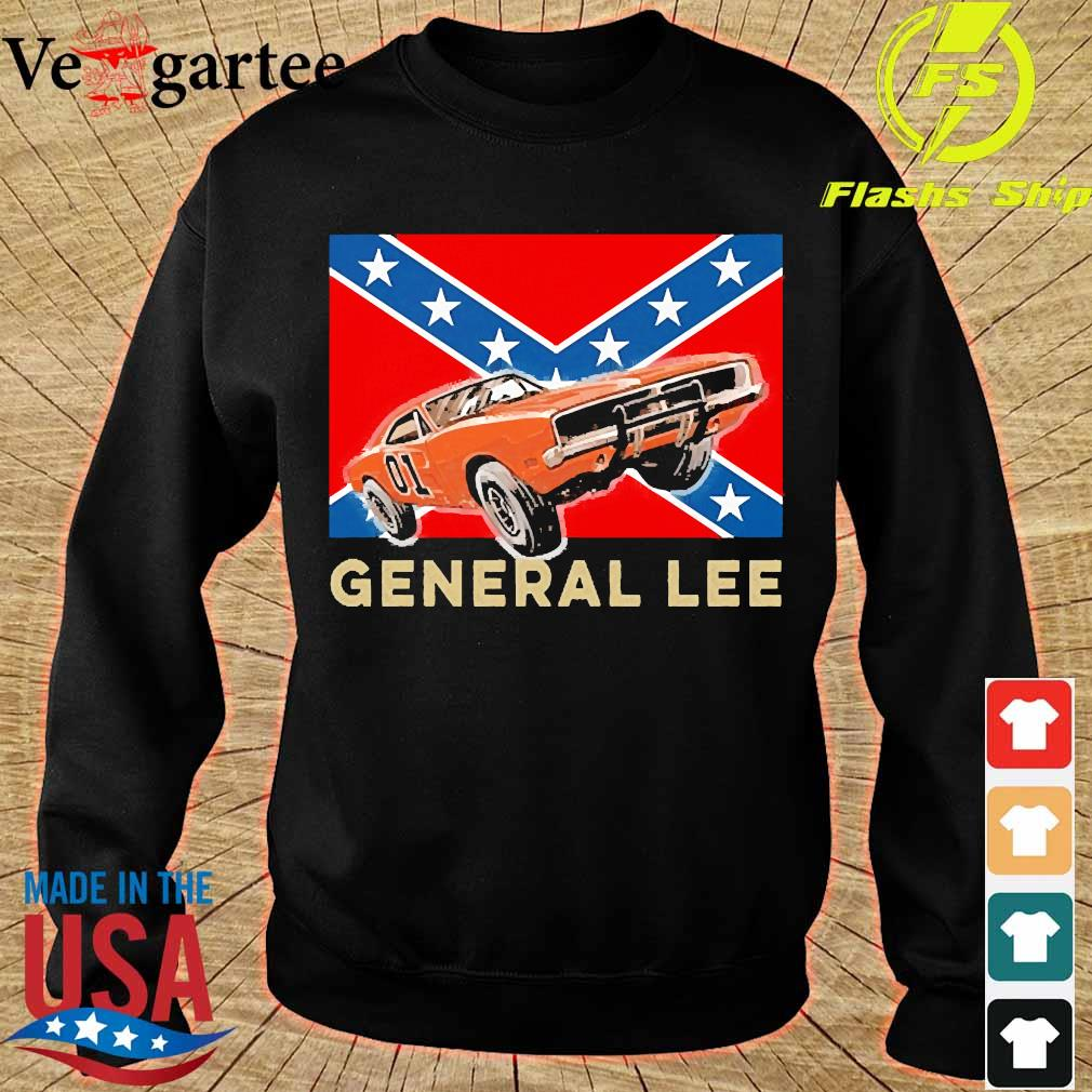 General Lee rebel car independence day s sweater