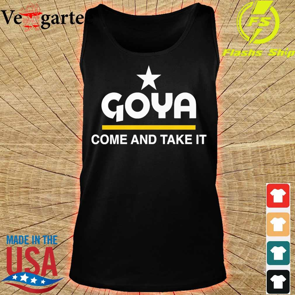 Goya come and take it s tank top